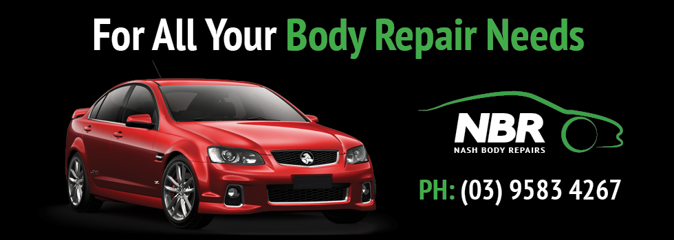 Nash Body Repairs. Melbourne body car repairs. Cheltenham